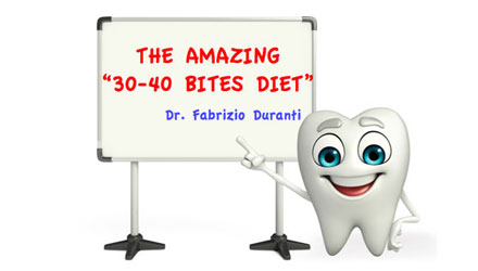 The amazing 30-40 bites diet la straordinaria dieta